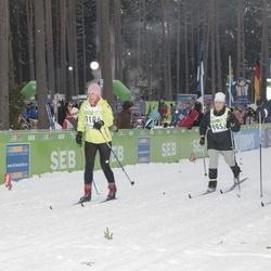 42. Tartu Maraton - Anda Piebalga (9853), Andris Piebalgs (9857)