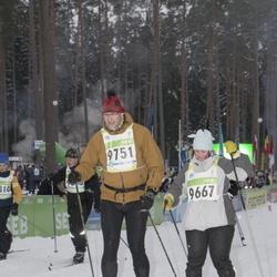 42. Tartu Maraton - Arlika Miiter (9667), Tõnis Kerner (9751)