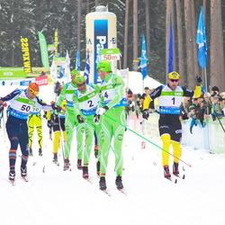 42. Tartu Maraton - Joergen Brink (1), Anders Aukland (2), Simen Oestensen (4), Börre Näss (50)