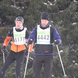 42. Tartu Maraton - Ando Meerbach (4442), Tarmo Piirmets (6177)