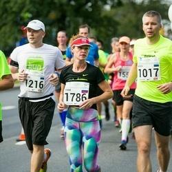 SEB Tallinna Maraton - Indrek Põld (1017), Valter Ritso (1216), Anna Smekalina (1786), Margus Viet (1858)