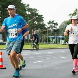 SEB Tallinna Maraton - Bruno Münter (1229), Pirjo Leskinen (1790)