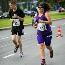 SEB Tallinna Maraton - Brenet Rahumägi (1335), Louisa Westlake (1347)