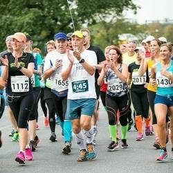SEB Tallinna Maraton - Marju Rääbus (1112), Ljudmila Kokorina (1430), Vesa Kouvo (1655), Annemari Muru (2011), Heleri Vilu (2026)