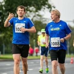SEB Tallinna Maraton - Ove Kangur (1025), Arto Suninen (1088)