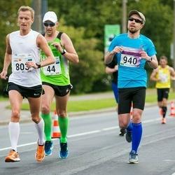 SEB Tallinna Maraton - Lauri Valdmaa (44), Karol Keskküla (803), Aaro Kuivalainen (940)