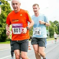 SEB Tallinna Maraton - Juha Palenius (318), Bernard Naudin (801)