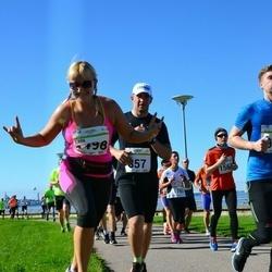 SEB Tallinna Maraton - Sofia Emelyanenko (857), Adela Agueda (1498)