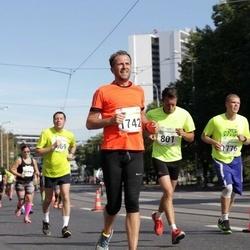 SEB Tallinna Maraton - Ago Saluveer (801), Raul Vinni (1742), Kristo Lilleoja (1776)
