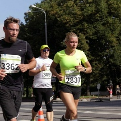 SEB Tallinna Maraton - Kairi Marie Riigor (2830), Ago Arro (3055), Heiti Niin (3362)