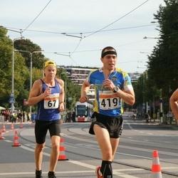 SEB Tallinna Maratoni Sügisjooks (10 km) - Christopher Kalev (67), Meelis Piirsalu (419)