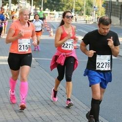 SEB Tallinna Maraton - Nelli Nilson (2158), Anneliis Vallimäe (2271), Davide Cicchiello (2278)