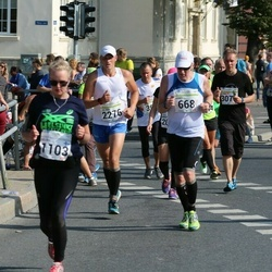 SEB Tallinna Maraton - Ari Kilpinen (668), Arkadiy Romashin (2276)
