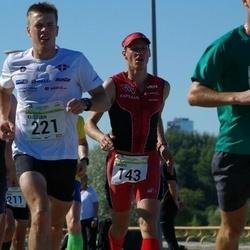 SEB Tallinna Maraton - Marko Pachel (143), André Abner (221)