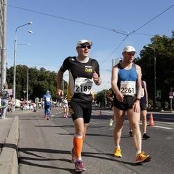 SEB Tallinna Maraton - Hannu Taipale (2189), Aare Huik (2261)