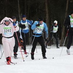 42. Tartu Maraton - Ando Reila (2986), Jarek Jänese (3292), Olev Kroon (3406)