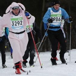 42. Tartu Maraton - Ando Reila (2986), Jarek Jänese (3292)