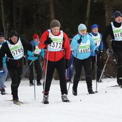 42. Tartu Maraton - Martin Raie (4187), Janis Lapselis (4372), Agnes Männik (4982), Kutti Kuldar (5795)