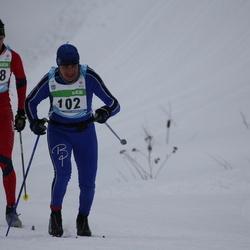 42. Tartu Maraton - Kaido Pesor (102), Artur Rauk (378)