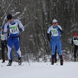 42. Tartu Maraton - Mathias Juust (220), Alar Lehesmets (653)