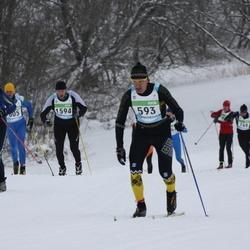 42. Tartu Maraton - Priit Salumäe (593), Vahur Loosaar (947), Aare Piire (1594)