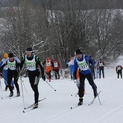 42. Tartu Maraton - Indrek Roos (1027), Aare Piire (1594), Margus Nael (2003)