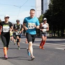 SEB Tallinna Maraton - Marianne Mäkinen (476), Annemari Muru (2011)