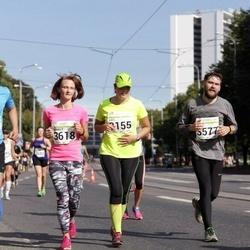 SEB Tallinna Maraton - Bernhards Blumbergs (3100), Elvis Takkis (3577), Annely Iskül (3618)