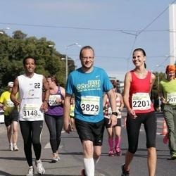 SEB Tallinna Maraton - Marelle Pärn (2201), Abdelrahman Elbayrekdar (3148), Margo Pärn (3829)