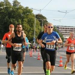 SEB Tallinna Maratoni Sügisjooks (10 km) - Diana Kaareste (213), Bradley Rasool (5486)
