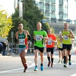 SEB Tallinna Maraton - Christian Gunnarsson (59), Erkki Ehasalu (168), Fl?vio Nunes (919)