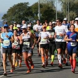 SEB Tallinna Maraton - Urmo Raiend (886), Liisa Kull (3651)