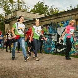 SEB Tallinna Maratoni Sügisjooks (10 km) - Anna Horohonova (9238), Anastasia Širobokova (9239)