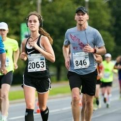 SEB Tallinna Maraton - Nils Majewski (846), Birgitti Pilvet (2063)