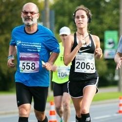 SEB Tallinna Maraton - Volker Herbel (558), Birgitti Pilvet (2063)