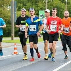 SEB Tallinna Maraton - Johanna Järvisalo (546), Marko Valinurm (1466), Jani Tammi (2036), Jürgo Jartsev-Moont (2126), Andre Petraudze (2136)