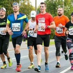 SEB Tallinna Maraton - Kaspar Mihailov (443), Johanna Järvisalo (546), Henri-Rene Kuningas (1128), Marko Valinurm (1466), Jürgo Jartsev-Moont (2126), Andre Petraudze (2136)