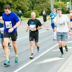 SEB Tallinna Maraton - Lauri Tomingas (1010), Bent Baisgaard (1148), Rouven Wetzel (1211)