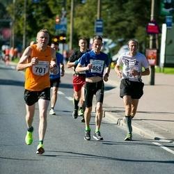 SEB Tallinna Maraton - Marko Halmeenpää (468), Ari Warpenius (701)