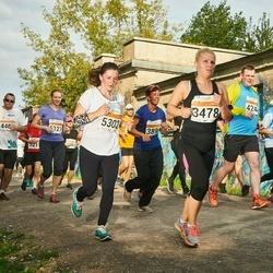 SEB Tallinna Maratoni Sügisjooks (10 km) - Monika Dobrjakova (3478), Agne Kaarlep (5302)