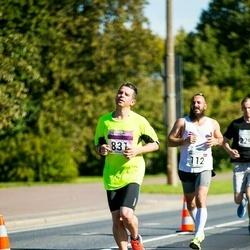 SEB Tallinna Maraton - Marcis Standzenieks (112), Arles Taal (831)