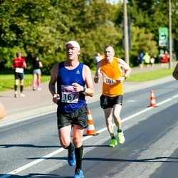 SEB Tallinna Maraton - Ingmar Vutt (167), Ari Warpenius (701)