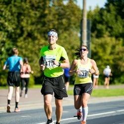 SEB Tallinna Maraton - Kaarel Kuusk (475), Anna Hillgren (631)