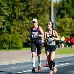 SEB Tallinna Maraton - Ade Russak (542), Birgitti Pilvet (2063)