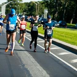 SEB Tallinna Maraton - Jelizaveta Mamchits (1721), Aleksei Mamchits (1724), Lennart Pulk (1961)