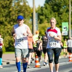 SEB Tallinna Maraton - Maris Aagver (1618), Valev Altmets (2258)