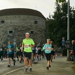 SEB Tallinna Maratoni Sügisjooks (10 km) - Birgit Haasmaa (1331), Marin Ojokas (3547)