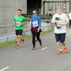 SEB Tallinna Maratoni Sügisjooks (10 km) - Agne Kinks (2291), Jukka Hovila (3927), Robin Peld (5144)