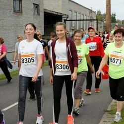SEB Tallinna Maratoni Sügisjooks (10 km) - Oksana Haruk (8305), Anastasija Fjodorova (8306)