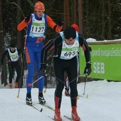 42. Tartu Maraton - Bjoern Austera (695), Priit Raudsepp (1127)